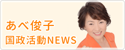 あべ俊子 国政活動NEWS